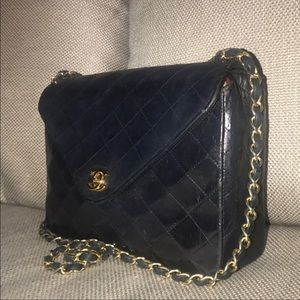Authentic Chanel Lambskin Matelasse Flap Quilted